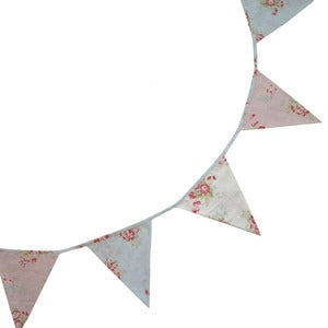 Image of Vintage Floral Bunting by Powell Craft