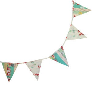 Image of Mixed Floral Bunting by Powell Craft