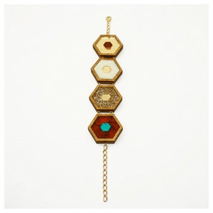 Image of Honeycomb Bracelet