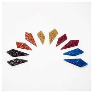 Image of Shard Studs - Glitter