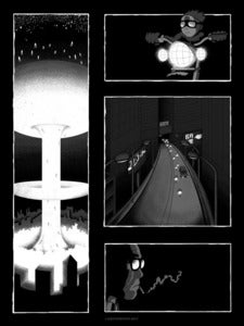 Image of Godspeed You! Black Emperor Art Print
