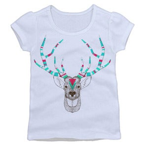 Image of Fancy Antlers Puff Sleeve