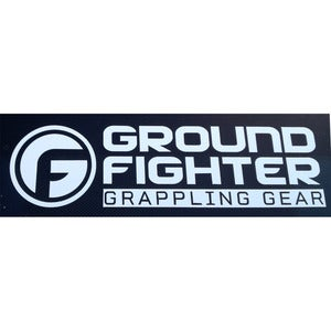 "Image of Ground Fighter ""Logo"" Car Decal"