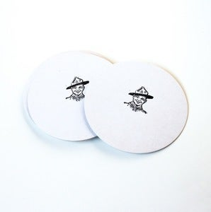 Image of Letterpressed Scout Coasters
