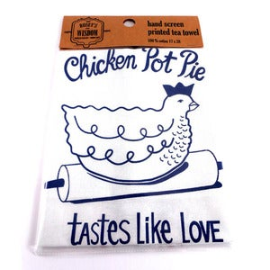 Image of Chicken Pot Pie Tea Towel