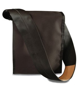 Image of Shoulder Pack Messenger Bag / Black