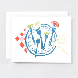 Image of Dressing Up For Dinner - Single Card