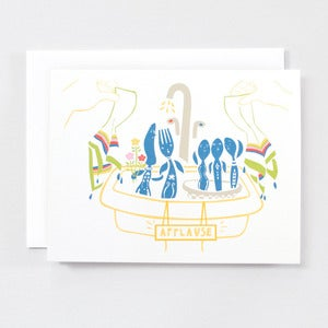 Image of Dancing With The Dishes - Single Card