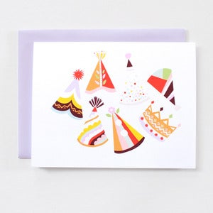 Image of Party Hats - Single Card