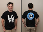 Image of Evil Genius LOVE Shirt - Mens