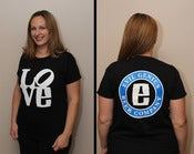 Image of Evil Genius LOVE Shirt - Womens