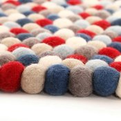 Image of 4.5ft Stars and Stripes YUMMI Rug