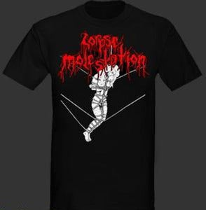 "Image of Corpse Molestation  "" Holocaust Wolves of The Apocalypse "" T shirt"