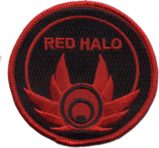 Image of Red Halo Patch