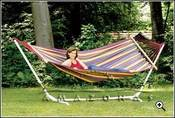Image of AMAZONAS Mauritius XL double hammock with spreaders bars