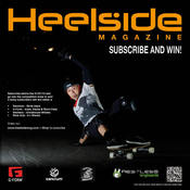 Image of HEELSIDE MAGAZINE SUBSCRIPTION  - 4 x ISSUES