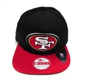 "Image of SF 49ERS ""SUPER VELCRO"" NEW ERA STRAPBACK"