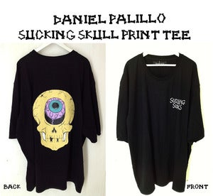 Image of Daniel Palillo 2013 SS SUCKING SKULL PRINT TEE