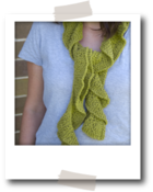Image of Frilly Scarf Kit by Knit Knit