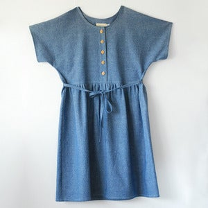 Image of Marguerite Dress No.1- Chambray