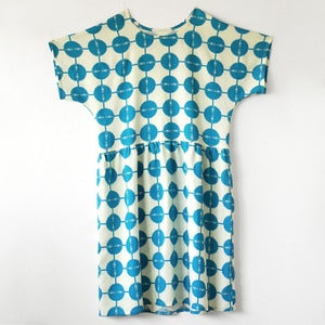 Image of Marguerite Dress No.5- Printed Rayon