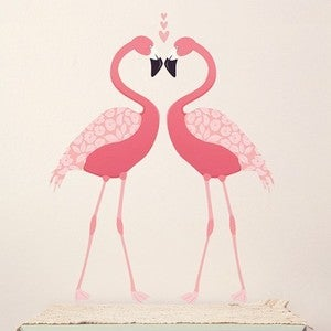 Image of Pink Flamingos/Flamants Roses