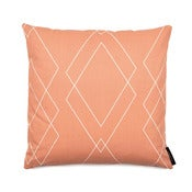 Image of Square cushion, Dale terracotta