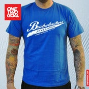 "Image of T-Shirt Bushwhackers Oldschool ""BLAU"""