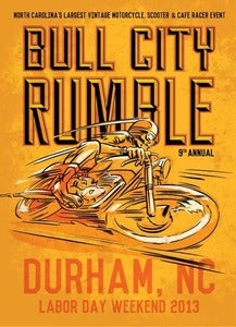 Image of 9th Annual Bull City Rumble Pre-Registration Special w/Shirt