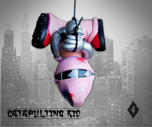 Image of 8' Catapulting Pink Diamond Kid
