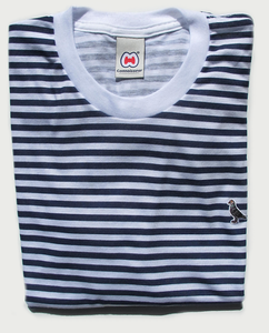 Image of AHOY MARY STRIPED T-SHIRT