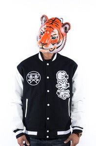Image of Rock Paper Cut Letterman Jacket