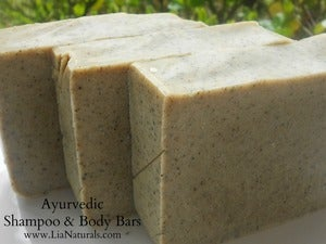 Image of Ayurvedic Shampoo And Body Bar