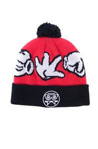 Image of RPC Pom Beanie - Red