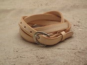 Image of womens skinny belt