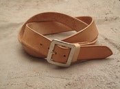 Image of mens standard belt
