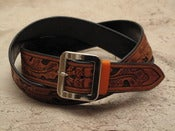 Image of oak leaf and acorn belt