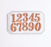 Image of Laser Cut Wood Number Magnets