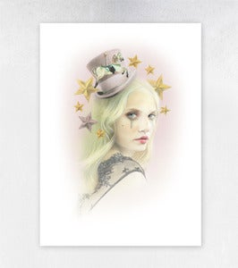 Image of Felt Carousel Limited Edition Print