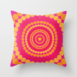 Image of Cushion Cover - Circling