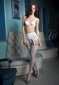 Image of Bubblemints Polka Dot Garter Belt