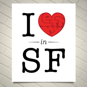 Image of I Left My Heart in San Francisco