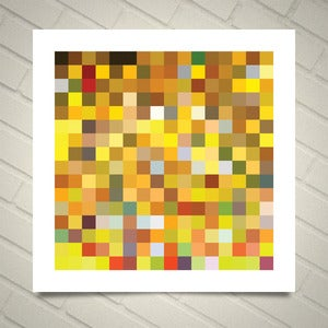 Image of Series 256 — Based on the colors from Gustav Klimt's The Kiss