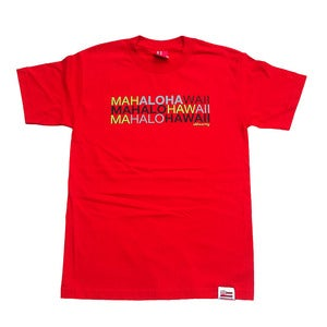 Image of ALOHA ARMY - MAHALOALOHA (RED)