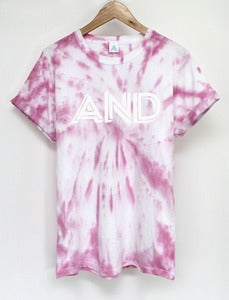 Image of AND Candy Tie Dye Tee