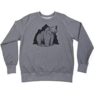 Image of Grizzly Co. - Roar Sweatshirt - Heather