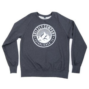 Image of Grizzly Co. - Trademark Sweatshirt - Dark Heather