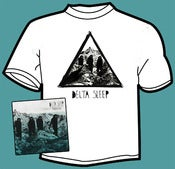 Image of Delta Sleep - Management EP and t-shirt