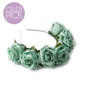 Image of Whole Lotta Rosie Headband - Mint