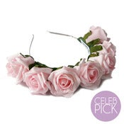 Image of Whole Lotta Rosie Headband - Blush Pink
